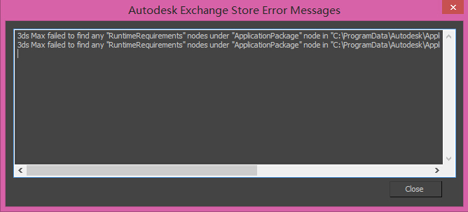 PackageContents.xml错误