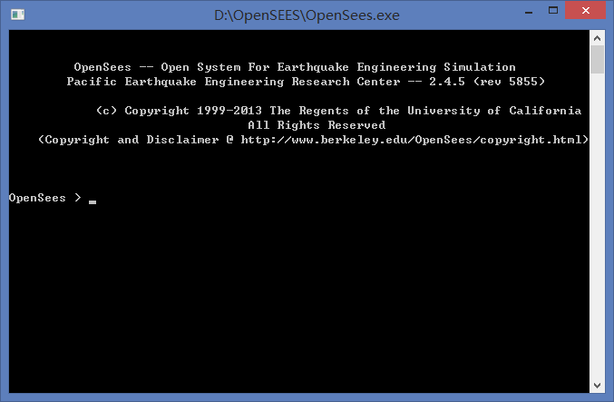 OpenSees Interface